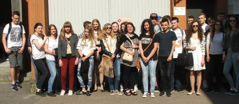 Spotkanie edukacyjne dla młodzieży II LO im. Konstytucji 3 maja w Krośnie