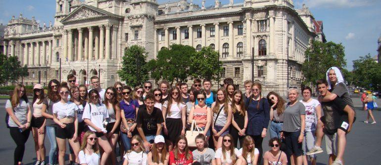 Nasi uczniowie w Budapeszcie i Wiedniu