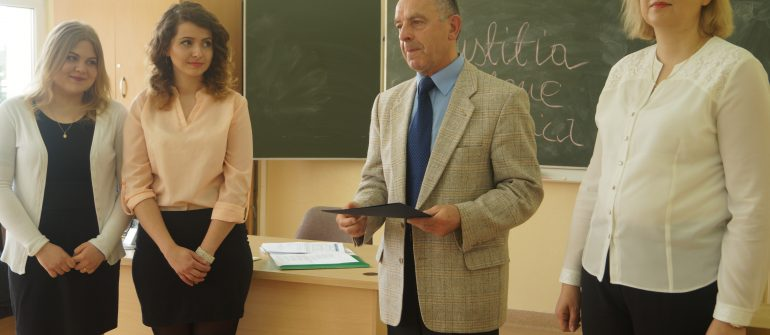 Lekcja edukacji prawniczej