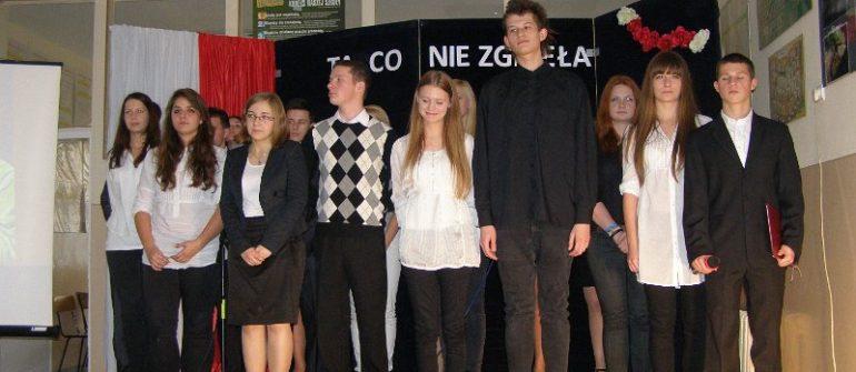 Akademia z okazji Święta 11 Listopada 2012