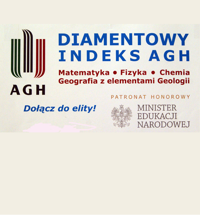 """XII Ogólnopolska Olimpiada """"O Diamentowy Indeks AGH"""""""