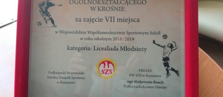 Nagroda dla II LO